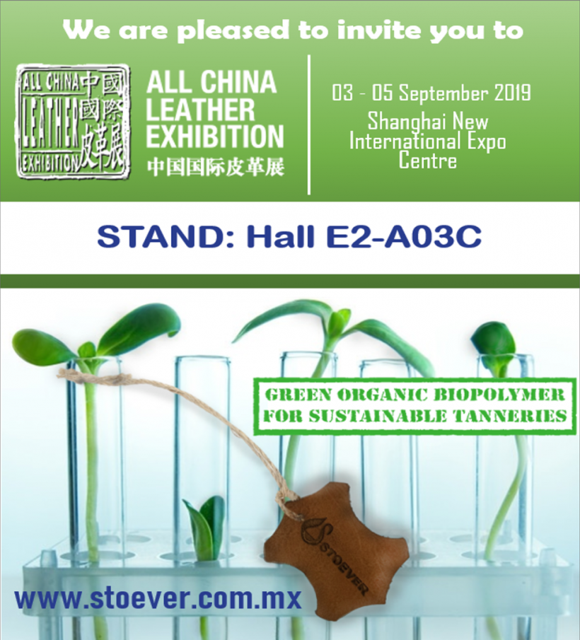 ALL LEATHER CHINA EXHIBITION STAND (ACLE) 2019 // SHANGHAI